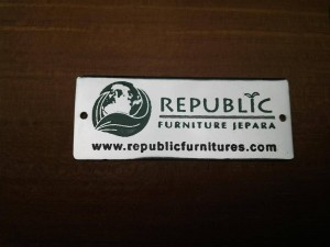 LOGO REPUBLIC furniture jepara
